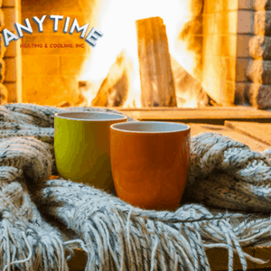 Cozy Fireplace and Mugs HVAC Services in Atlanta | Anytime HVAC