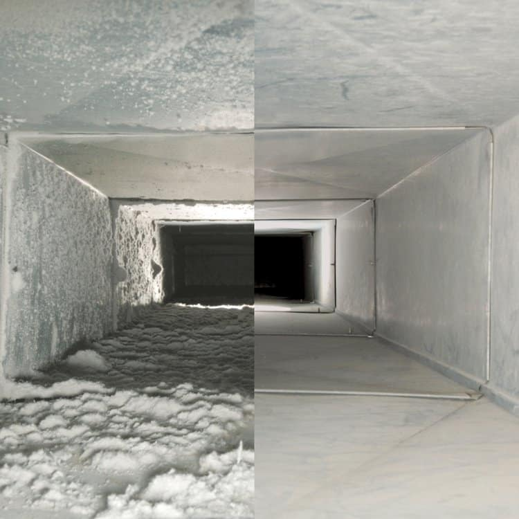 Mold in HVAC Air Ducts